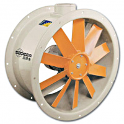 Ventilator axial SODECA HCT-63-4T-4/PL IE3