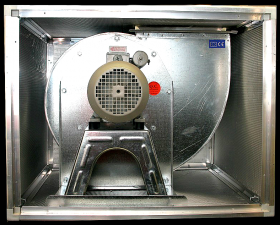 Ventilator centrifugal SIVAR BOX 5,5 HP 350 T4